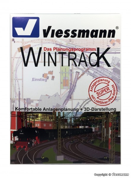Viessmann 1006  WINTRACK 14.0 Vollversion mit 3D